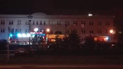 Wieczorna interwencja strażaków w Szpitalu Zachodnim
