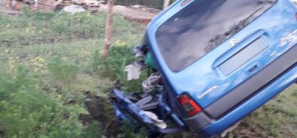Wypadek w Żelechowie. Jedna osoba w szpitalu [FOTO]