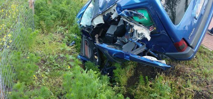 Wypadek w Żelechowie
