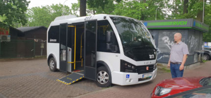 Nowe autobusy komunikacji miejskiej w Milanówku?