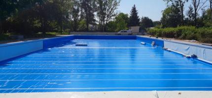 Niecka basenu prawie gotowa. Nowe zdjęcia