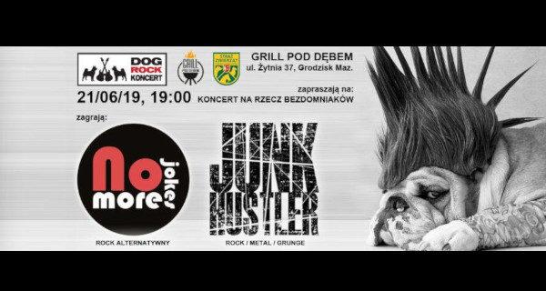 Dwa rockowe koncerty dla bezdomniaków w Grodzisku