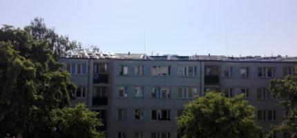 Grodziska Spółdzielnia Mieszkaniowa montuje panele solarne