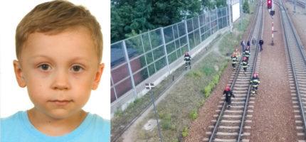 Mężczyzna, który zginął na torach to ojciec poszukiwanego 5-latka