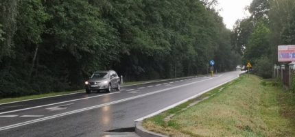 Budowa ścieżki rowerowej wzdłuż drogi 719 zbyt droga