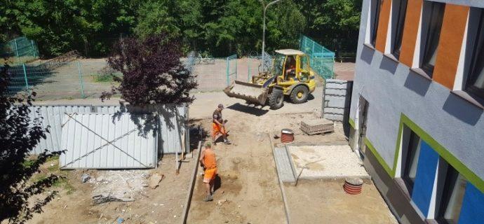 Rozbudowa szkoły: Zakończenie prac raczej nie przed rozpoczęciem roku szkolnego