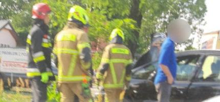 Zderzenie trzech aut na Żyrardowskiej
