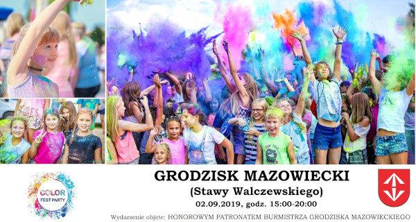 Na początku września Festiwal Kolorów ponownie w Grodzisku