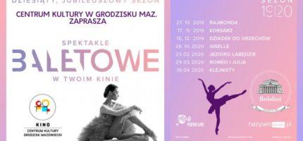 Kolejny sezon ze światową klasyką baletu w Grodzisku