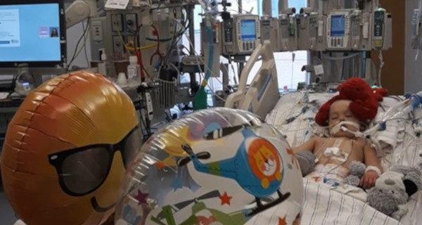 Operacja Filipa się udała. Chłopiec wybudzony ze śpiączki