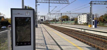 Nowy system informacji pasażerskiej na linii Grodzisk–Warszawa Włochy