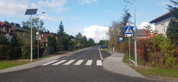 Lampy solarne poprawią bezpieczeństwo na skrzyżowaniu [FOTO]