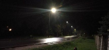 Nowe energooszczędne latarnie oświetlają ulice
