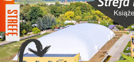 Boiska pod balonem w Książenicach gotowe do gry