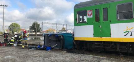 Katastrofa z udziałem pociągu KM. Spokojnie – to tylko ćwiczenia [FOTO]