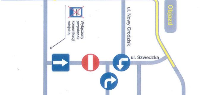 Od dziś nowa organizacja ruchu na ul. Szwedzkiej