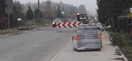 Przebudowa trasy 579 zaawansowana