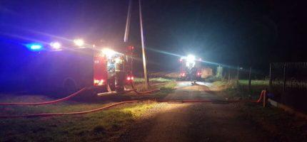 Policja: Pożar stadniny wypadkiem losowym. Nie będzie śledztwa