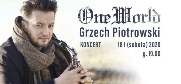 Grzech Piotrowski wystąpi w Podkowie