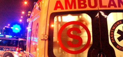 Wypadek na Chrzanowskiej. Jedna osoba w szpitalu