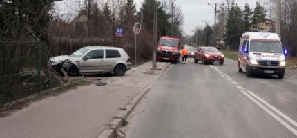 Wypadek na 3 Maja. Ranny rowerzysta [FOTO]