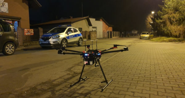 Dron antysmogowy już działa
