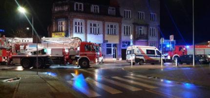 """Wieczorna akcja straży pożarnej w Grodzisku. """"Brzmiało poważnie"""" [FOTO]"""