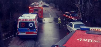 Tragiczny pożar przy ul. Ludnej