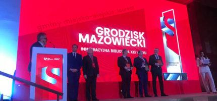 """Grodzisk z nagrodą """"Innowacyjny samorząd 2020"""""""
