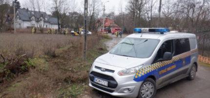 Wyciek gazu w Milanówku. Interweniowały służby