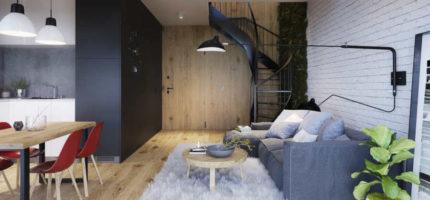 WYŻSZY POZIOM NIERUCHOMOŚCI – mieszkania z antresolą to nie tylko moda