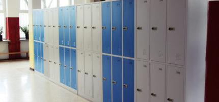 Szafki dla uczniów z budżetu obywatelskiego już są [FOTO]