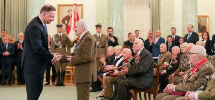 Mieszkaniec Grodziska uhonorowany medalem przez prezydenta RP