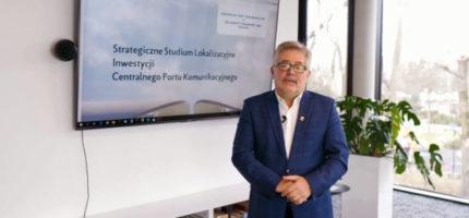 Benedykciński o CPK w kontekście grodziskiej gminy [WIDEO]