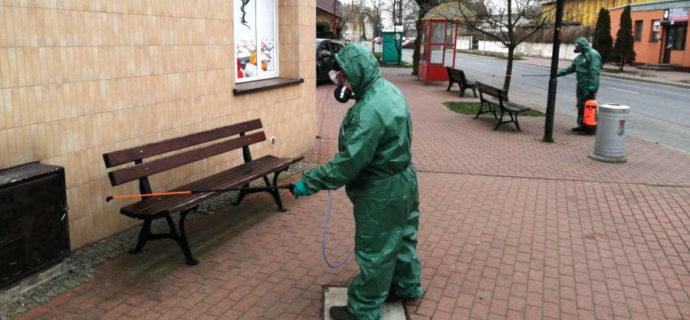 ZGK dezynfekuje miasto