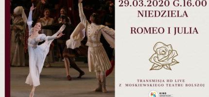 Światowa klasyka baletu w grodziskim kinie.