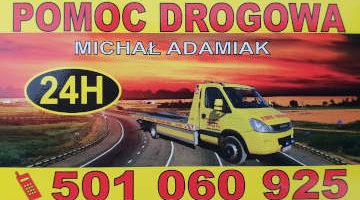 Pomoc Drogowa Michał Adamiak Grodzisk Mazowiecki