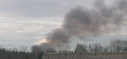Pożar w Odrano Woli. W akcji trzy zastępy straży