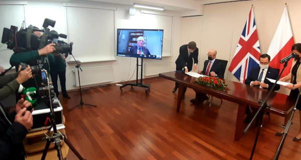 Polsko-brytyjskie porozumienie w sprawie CPK
