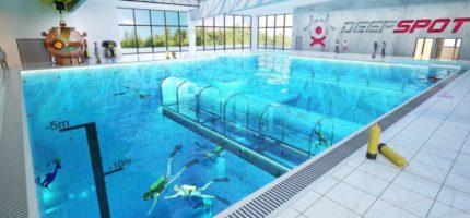 Jeden z najgłębszych basenów świata powstaje pod Mszczonowem. Gotowy jeszcze tego lata?