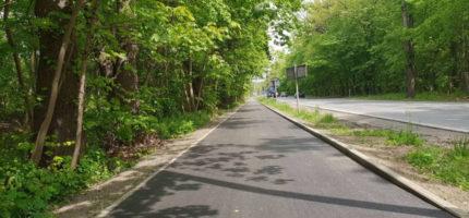 Ścieżka wzdłuż drogi 719 nabiera kształtów [FOTO]