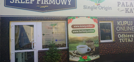 Sklep firmowy palarni kawy Single Origin ponownie otwarty