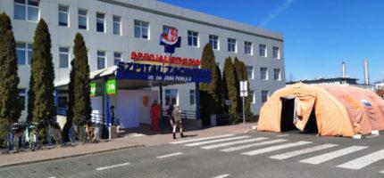 Trudna walka Szpitala Zachodniego z koronawirusem. Pomoże wojsko