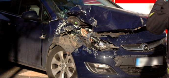 Mapa śmiertelnych wypadków drogowych. Sugestywna przestroga