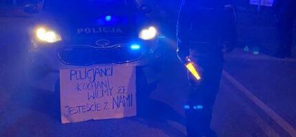 Policja: Grodziski protest przebiegł spokojnie