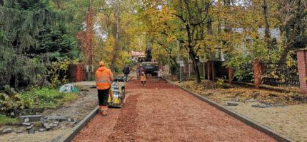 Ulica Mickiewicza nabiera kształtu