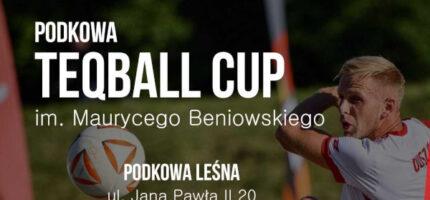Teqballowy turniej z gwiazdami w Podkowie