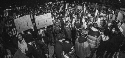 Tak spacerowicze protestowali w Grodzisku [FOTO]